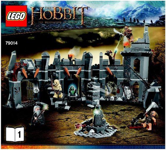 The Hobbit - Dol Guldur Battle [Lego 79014] instructions