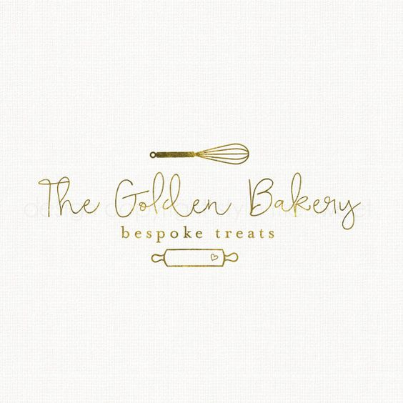 whisk logo design rolling pin logo bakery by stylemesweetdesign