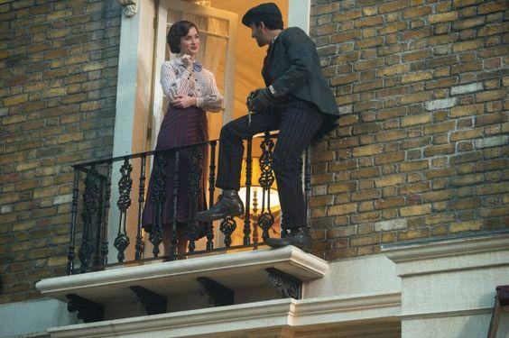 Mary Poppins Returns - Emily Blunt and Lin-Manuel Miranda