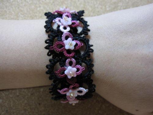 Brățară Clothespin tatting №5 ♪ Cum sa faci | rețete de artizanat 16000 | tricotat | tricotat, artizanat, cusut | Atelier! Lucrari de artizanat si manual create de oameni, bunuri de modul de a face portal