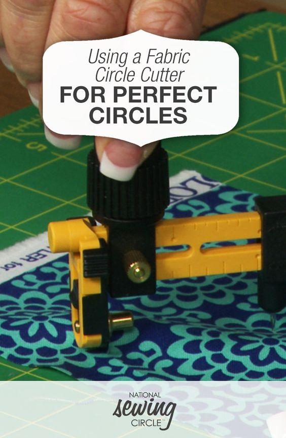 how to use a circle cutter