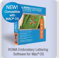 embroidery machine compatible with mac
