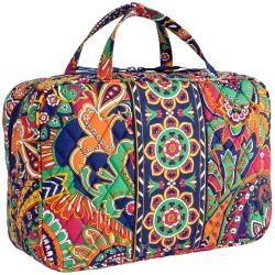 Vera Bradley Grand Cosmetic in Venetian Paisley - products - Fashion Review Product