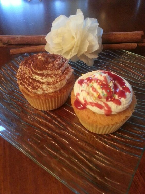Cupcakes nutella or strawberry ♥