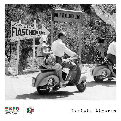 Italia in Vespa/Touring Club Italiano/ EXPO2015 Milano ITALIA