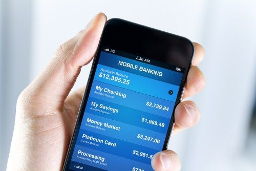 Mobile banking trends could drive up ATM machine use.