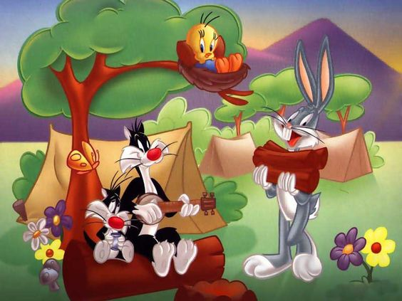 Image gallery for : easter looney toons wallpaper
