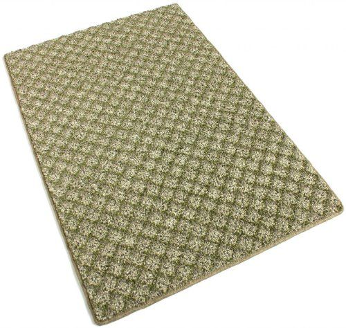 3x5Make Green 40 oz Indoor Area Rug Carpet Runners  Stair Treads With Premium Nylon Fabric FINISHED EDGES >>> More home décor info could be found at the image url.