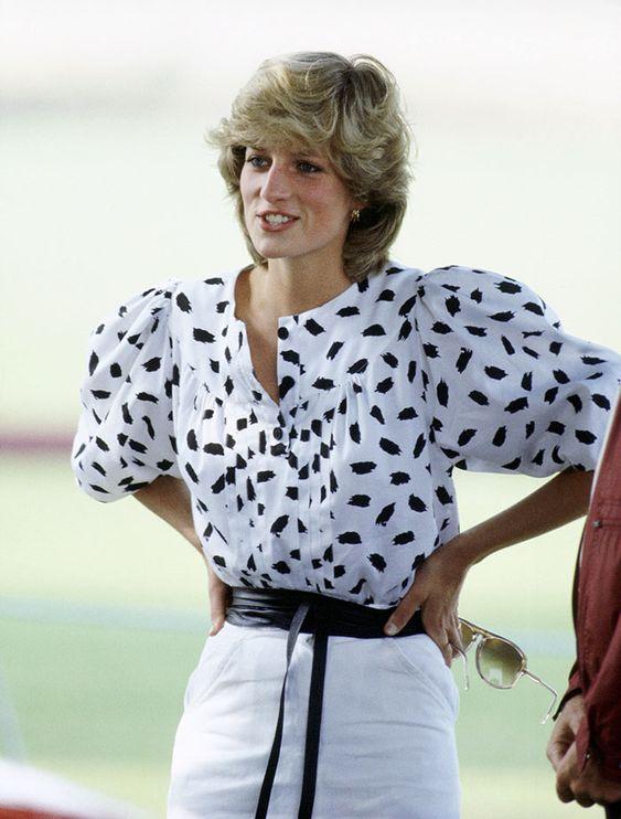 La blusa de Lady Di que todas están usando