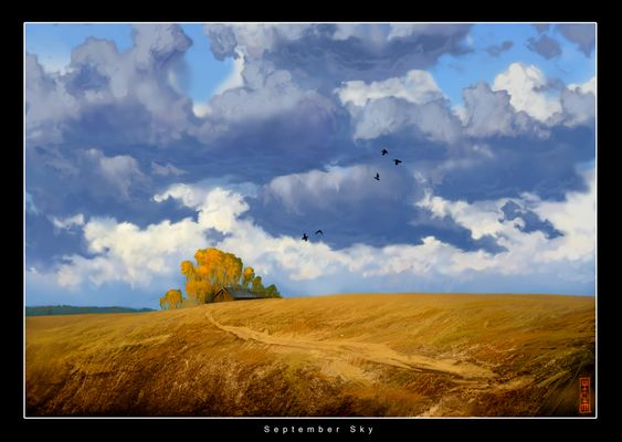 September Sky by RHADS.deviantart.com on @deviantART
