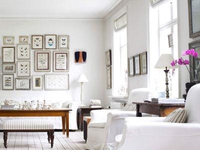wonderful white living room Wallpaper