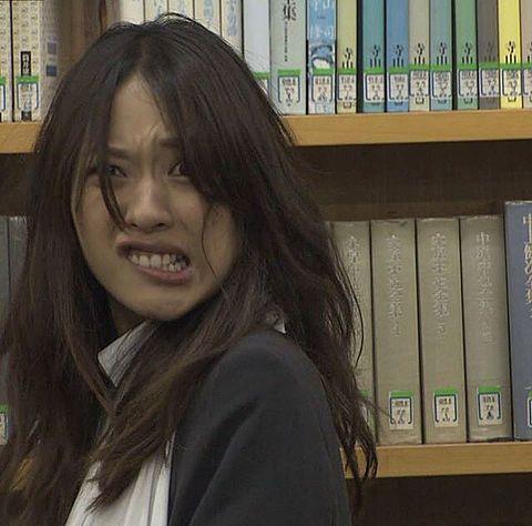変顔の戸田恵梨香さん