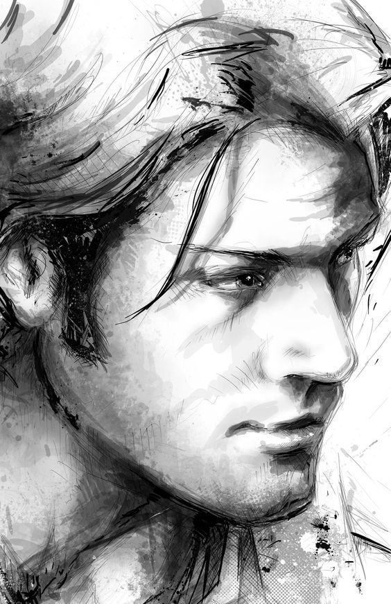 Sketchesofsam Sssh Critical Role Is: I Know It's A Drawing Of Sam Winchester, But From This