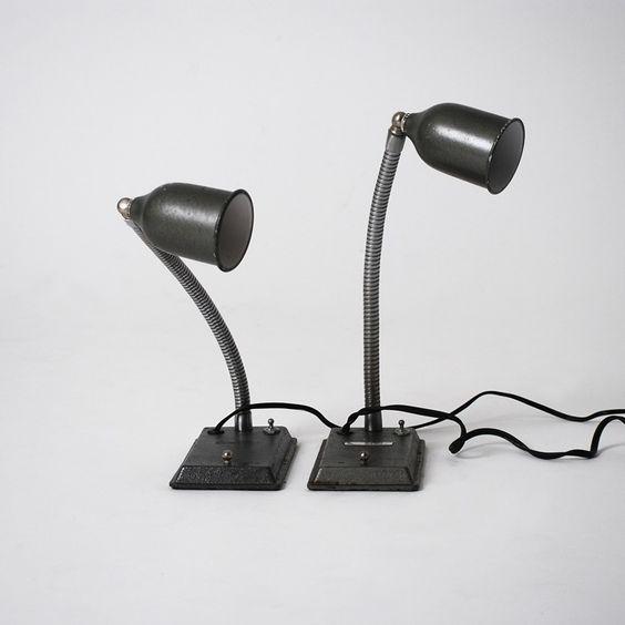 twin gossiping lamps