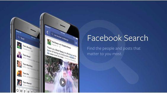 Facebook ha realizado nuevos cambios en el proceso de búsqueda para su versión en inglés de Estados Unidos (no se conocen fechas para otros idiomas y ubica