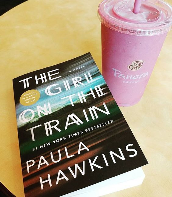 Finally getting around to this #book 📚 #thegirlonthetrain #lunch…: