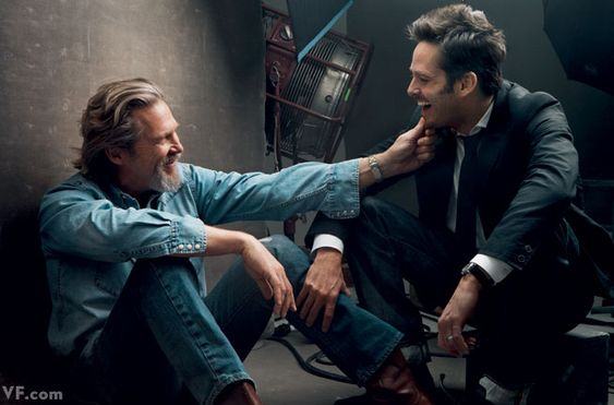 "Actors and Directors | Director Scott Cooper with Jeff Bridges. One film together: ""Crazy Heart"" (2009). | Annie Leibovitz #leibovitz"