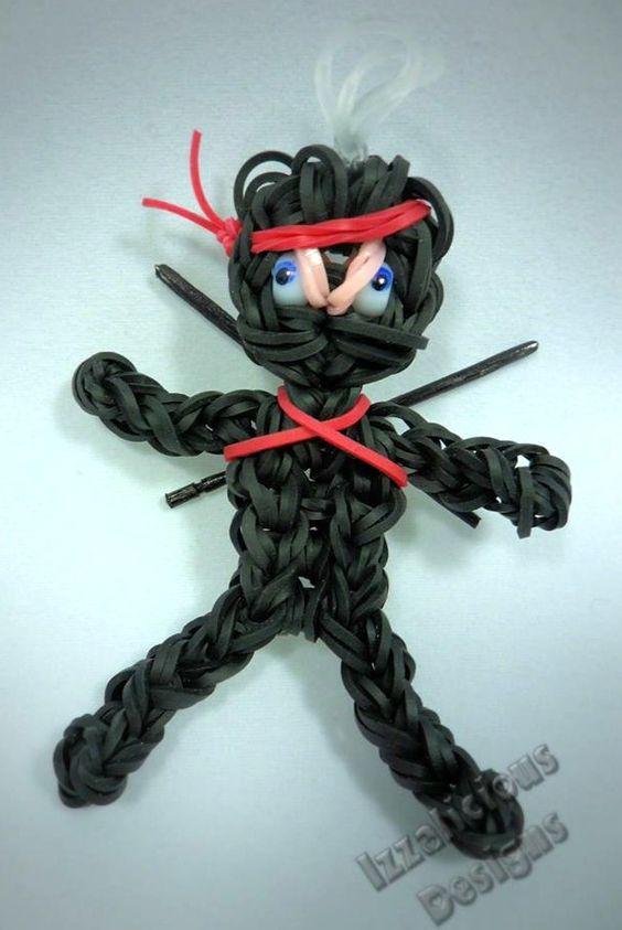 How to: Rainbow Loom Ninja