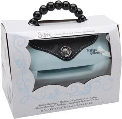 Sizzix Texture Boutique Embossing Machine  I have this, it's pretty cool