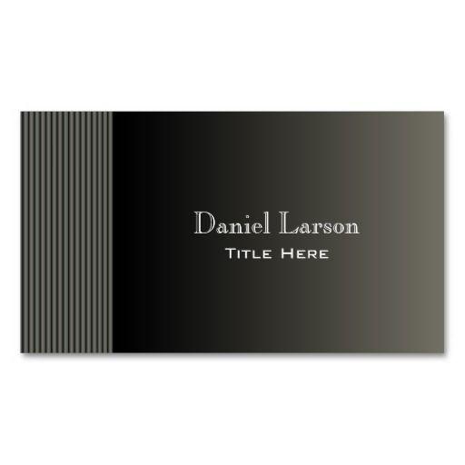 Metalic Modern Business Card