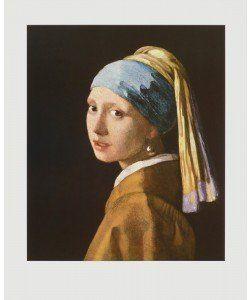 Jan Vermeer, Portrait eines Mädchens, 1660
