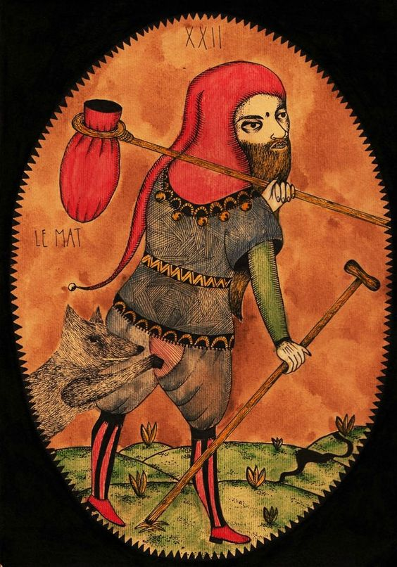 The Fool Tarot Card (XXII)
