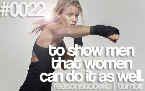 AMEN. Girls take note: LIFT. And don't be afraid to lift heavy. I promise you won't bulk up. It's genetically impossible. You'll just get sexy, toned muscles, while burning fat.