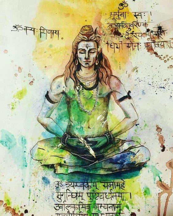 Shiva The Adi Yogi