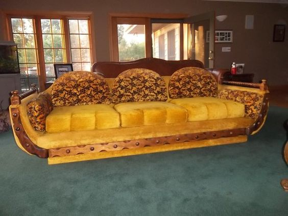 Retro Shagadellic Couch & Loveseat Set, Yeah Baby! in Island Lake, IL, USA ~ Krrb