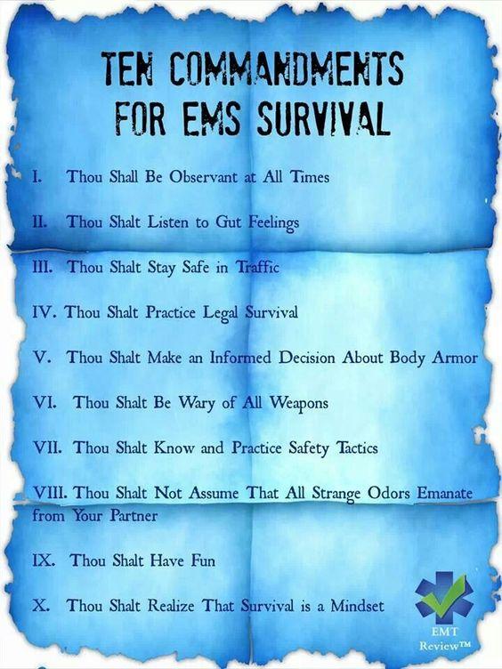 surviving the world relationship commandments