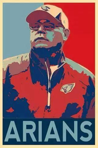 Cardinals Coach Bruce Arians is the savior in Arizona.