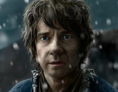 """Check out my @Behance project: """"Bilbo Baggins""""…"""