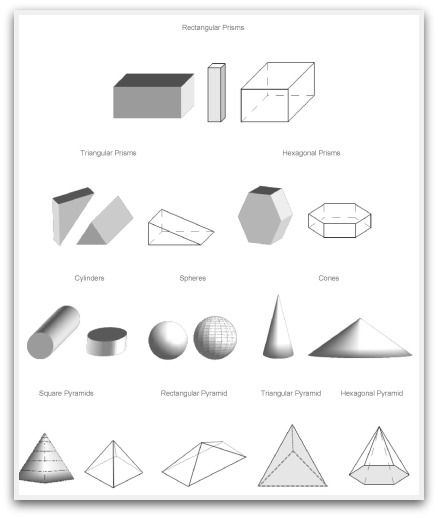 how to create geometric shapes in sketchup