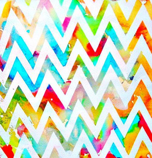 colorful chevron pattern - Google Search