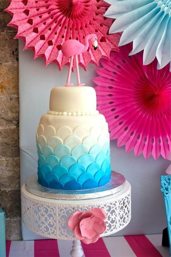 Flamingo Themed Pool Party via Kara's Party Ideas | Kara'sPartyIdeas.com #Summer #PoolParty #Party #Ideas #Supplies (23)