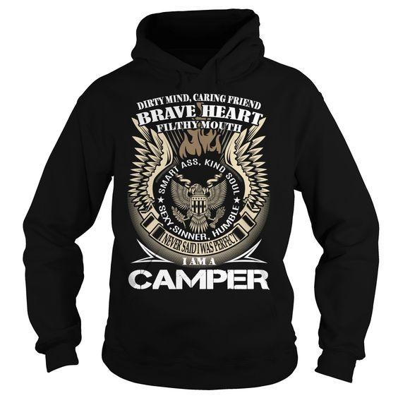 (Tshirt Fashion) CAMPER Last Name Surname TShirt v1 [Tshirt design] Hoodies, Funny Tee Shirts