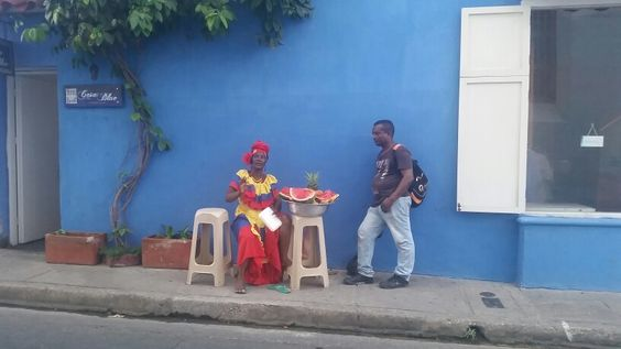 Ciudad Antigua. Cartagena Colombia