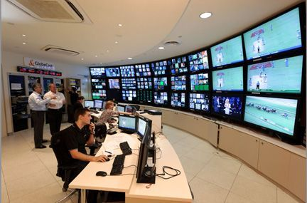 network operations center for remote monitoring