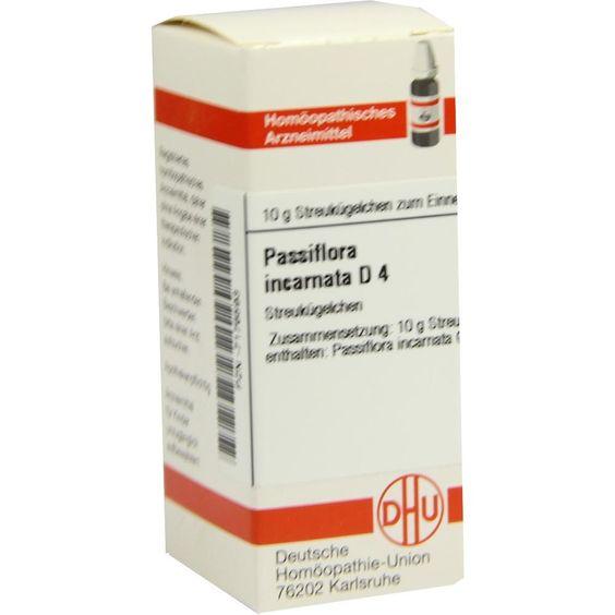 PASSIFLORA INCARNATA D 4 Globuli:   Packungsinhalt: 10 g Globuli PZN: 07176593 Hersteller: DHU-Arzneimittel GmbH & Co. KG Preis: 5,19 EUR…