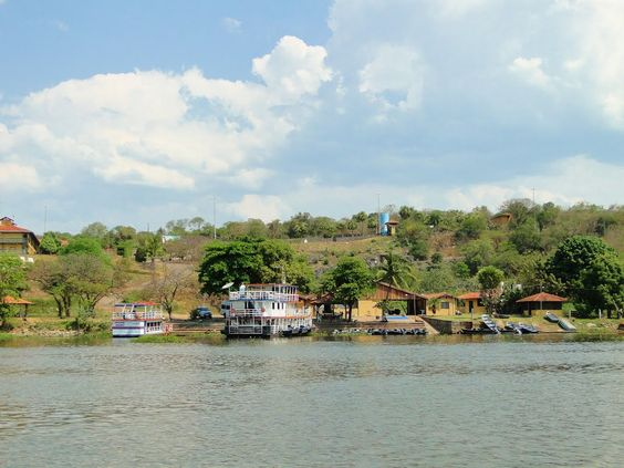 Paisagem  do Rio Paraguai -Corumbá/MS