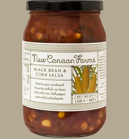 """BLACK BEAN & CORN SALSA 15.9 oz Jar (4 jars/order) """"."""" ENJOY FREE SHIPPING! Manufactured in a facility that processes tree nuts, eggs, and milk. Choose any 4 FLAVORS - Brazos River Blackberry Jam - Ja"""