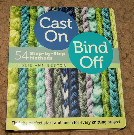 Cast On, Bind Off - softcover book by PracticalThings on Etsy