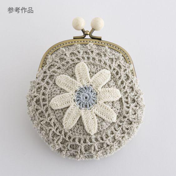 crochet purse: