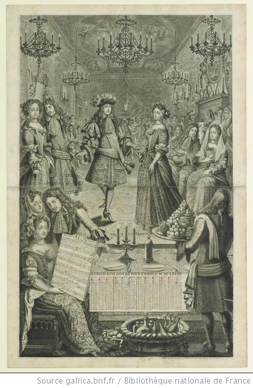 """""""Bal à la Françoise"""" - [estampe] - Marc-Antoine charpentier"""