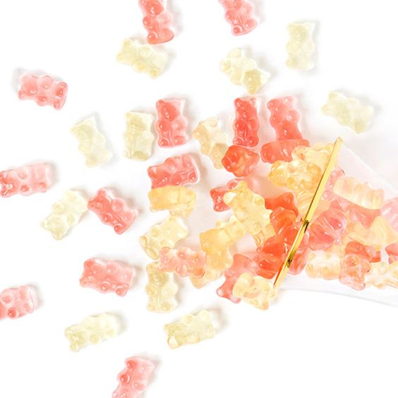 Sugarfina Champagne Bears infused with Dom on Hello Lovely Studio