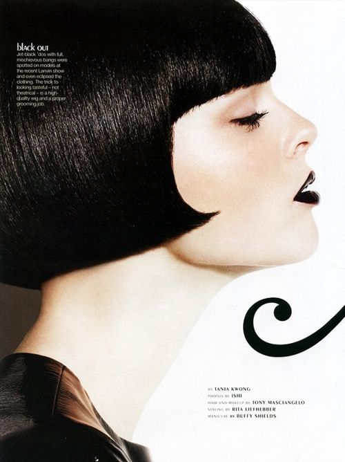 Coco Rocha by Ishi ( Bryan Ishiguro) for Glow magazine,  November 2010