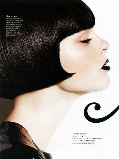 Coco Rocha by Ishi ( Bryan Ishiguro) for Glow magazine,  November 2010