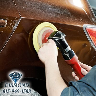 813-949-1388 Call Diamond Body Shop Tampa for Your Collision Needs #bodyshoptampa