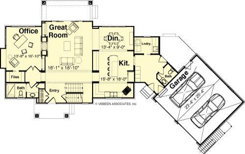 Designer Dream Homes First Floor Plan Floor Plans