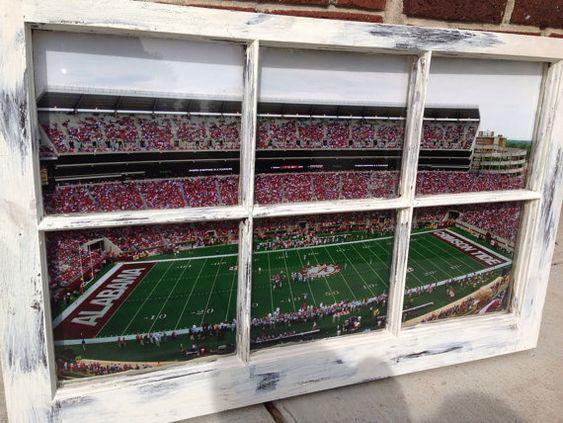 University of Alabama Window by WindowsbyLauren on Etsy, $100.00